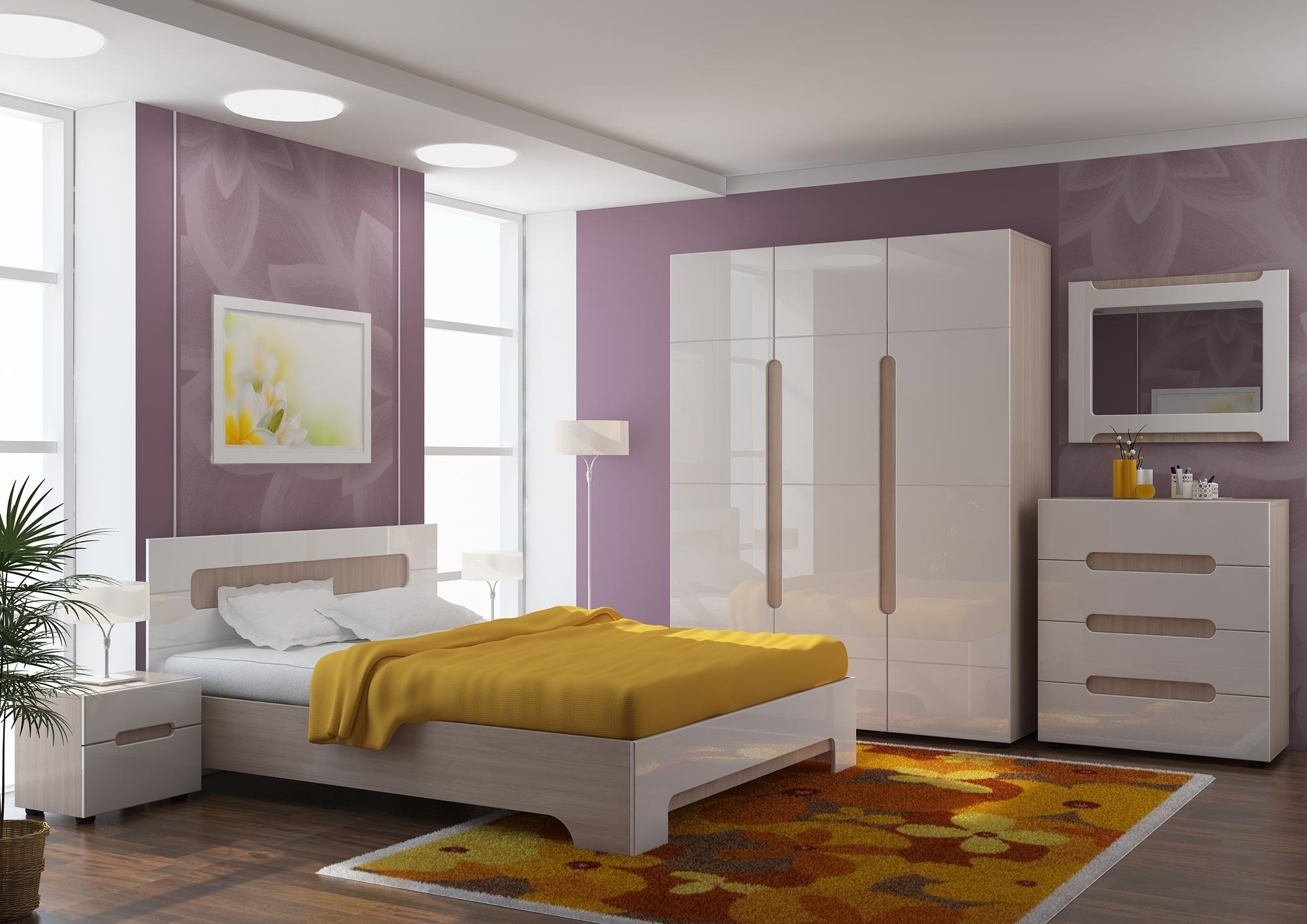 """Модульная мебель для спальни """" палермо."""